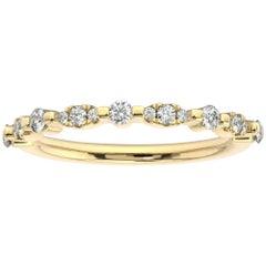 18K Yellow Gold Dalia Diamond Ring '1/4 Ct. Tw'