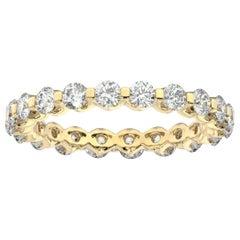 18K Yellow Gold Harlow Eternity Diamond Ring '1 1/2 Ct. tw'