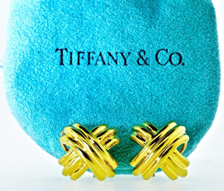 18 Karat Yellow Gold Iconic Tiffany & Co.