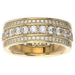 18K Yellow Gold Katharine Eternity Diamond Ring '2 Ct. tw'