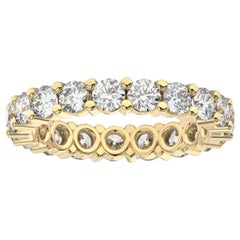18K Yellow Gold Kira Eternity Diamond Ring '2 Ct. Tw'