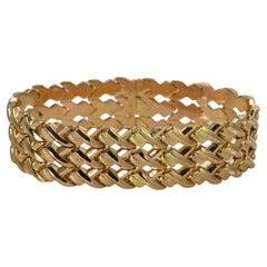 18K Yellow Gold Link Bracelet, 29 Grams