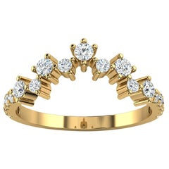18K Yellow Gold Margol Diamond Ring '2/5 Ct. tw'