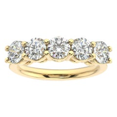 18K Yellow Gold Marne 5-Stone Diamond Ring '2 Ct. tw'