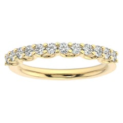 18K Yellow Gold Olbia Diamond Ring '1/2 Ct. tw'