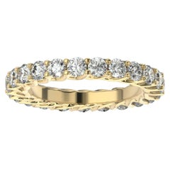 18K Yellow Gold Olbia Eternity Diamond Ring '1/2 Ct. Tw'