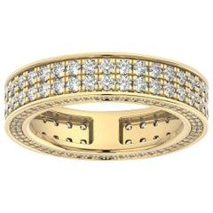 18K Yellow Gold Olivia Eternity Diamond Ring '2 Ct. Tw'