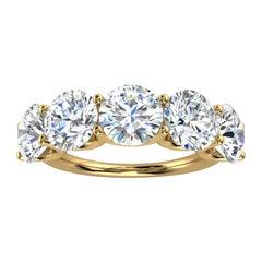18K Yellow Gold Sevilla Diamond Ring '5 Ct. Tw'