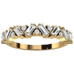 18k Yellow Gold Sharvit Diamond Ring '1/3 Ct. Tw'