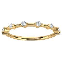 18K Yellow Gold Sollaris Diamond Ring '1/7 Ct. tw'