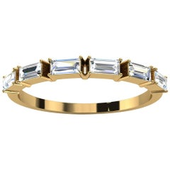 18K Yellow Gold Telara Baguette Diamond Ring '1/3 Ct. tw'