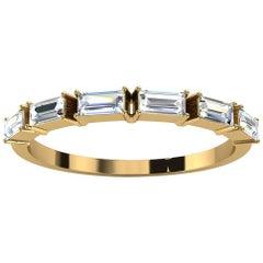 18K Yellow Gold Telara Baguette Diamond Ring '1/3 Ct. tw'