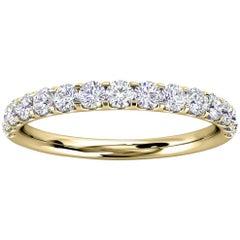 18K Yellow Gold Valerie Micro-Prong Diamond Ring '2/5 Ct. tw'