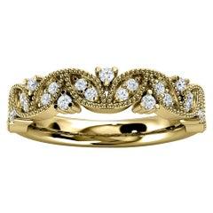 18k Yellow Gold Vera Diamond Ring '1/5 Ct. Tw'