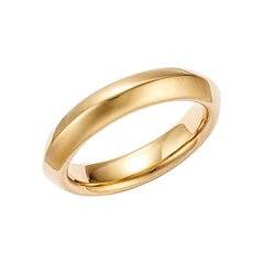18kt Fairmined Ecological Gold Amore Ridge Wedding Ring in Yellow Gold