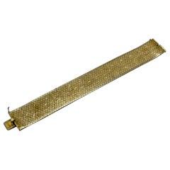 18kt Gold Band Bracelet