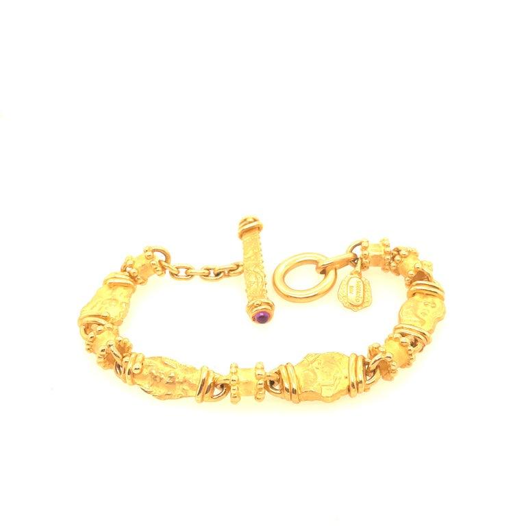 Women's 18 Karat Yellow Gold Denise Roberge Bracelet For Sale