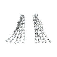 18KW D-13.68 G-H SI1-SI2 Natural Diamond Earring