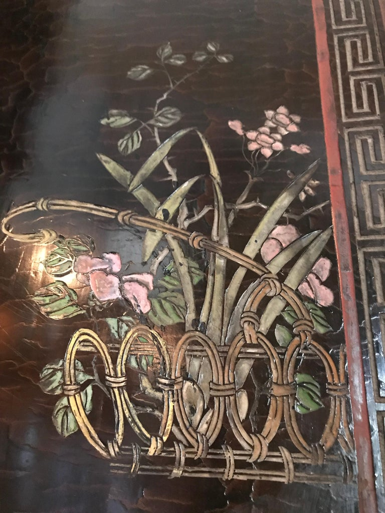 12-Panel Coromandel Chinese Screen Wall Art Backdrop Wall Mount Panels carved LA For Sale 5