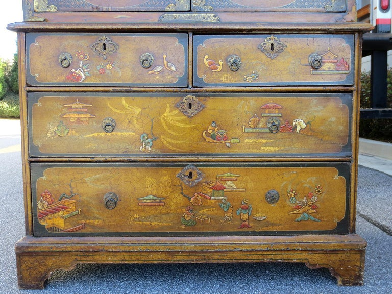 18th-19th Century Chinoiserie Cabinet For Sale 5
