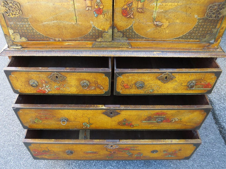 18th-19th Century Chinoiserie Cabinet For Sale 6