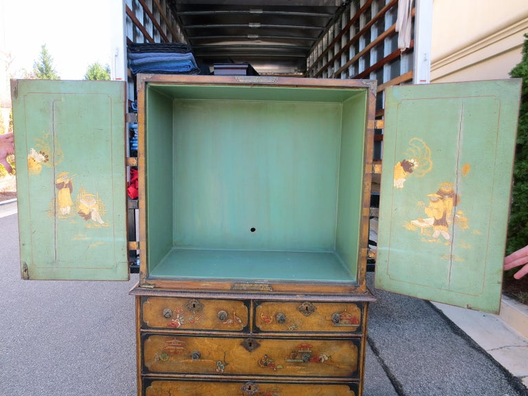 18th-19th Century Chinoiserie Cabinet For Sale 7