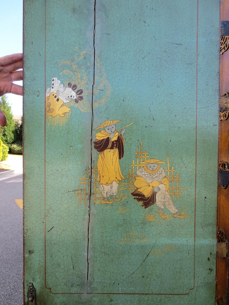 18th-19th Century Chinoiserie Cabinet For Sale 8