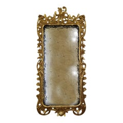 18th-19th Century Continental Gilt Over Gesso Wall Mirror