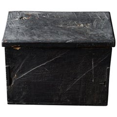 18th-19th Century Edo Period Japanese Wooden Box