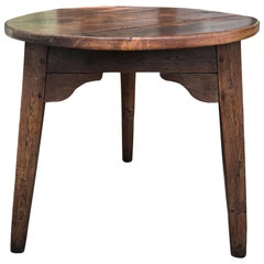 18th-19th Century English, Possibly Welsh, Cricket Table, Incredible Surface