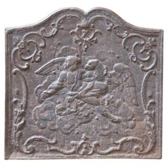 18th-19th Century French 'Abduction of Ganymede' Fireback
