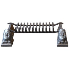 18th-19th Century French Fire Grate, Fireplace Grate