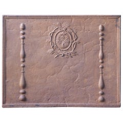 18th-19th Century French Neoclassical 'Decorative' Fireback