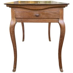 18th-19th Century French Provincial Tric-Trac Game Table