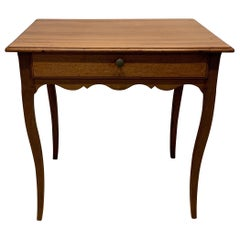 18th-19th Century French Provincial Walnut Small Work Table