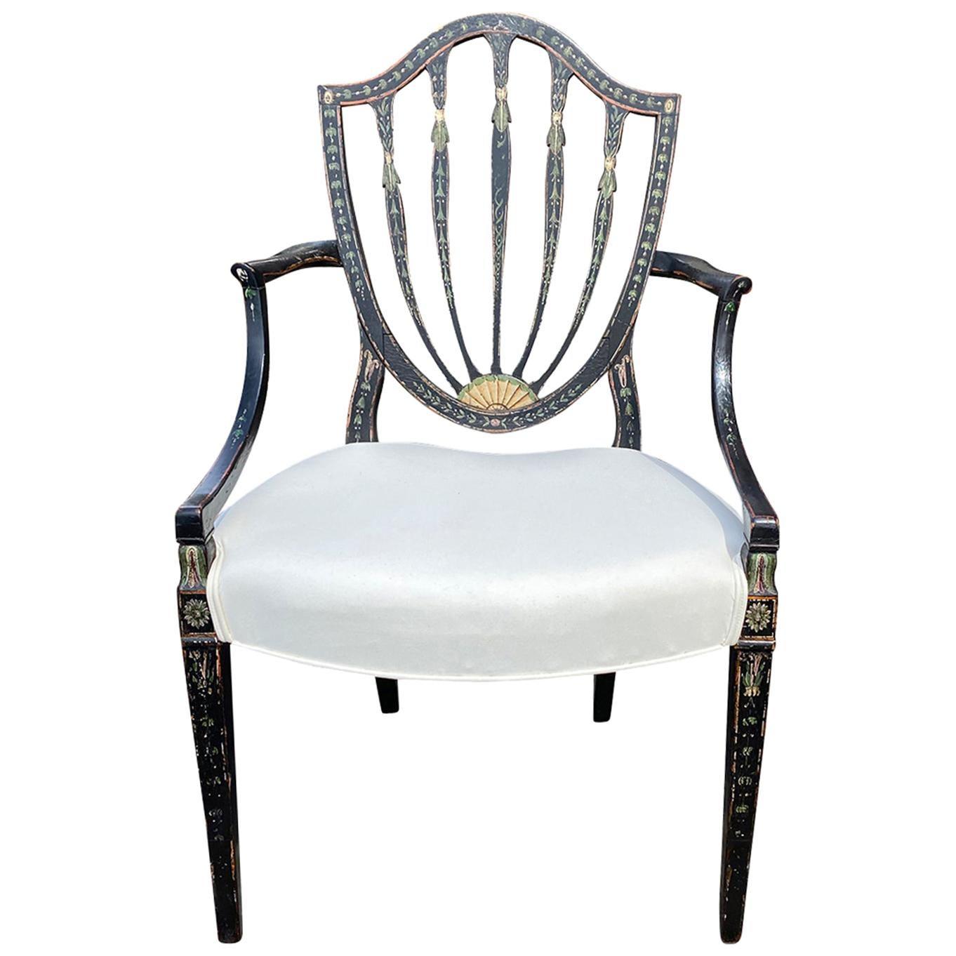 18th-19th Century Georgian Style Armchair