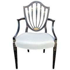 18th-19th Century Georgian Style Armchair