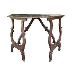 18th-19th Century Italian Wood Console