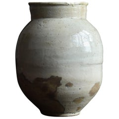 18th-19th Century Lee Dynasty White Porcelain Vase