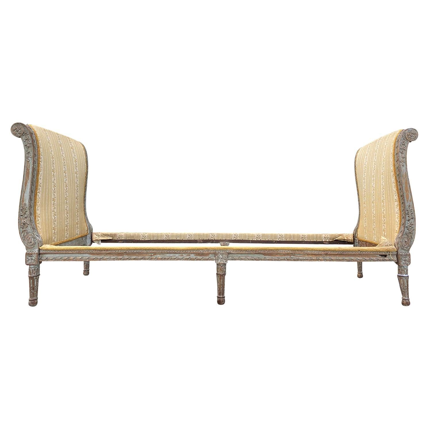 18th-19th Century Louis XVI Style Daybed