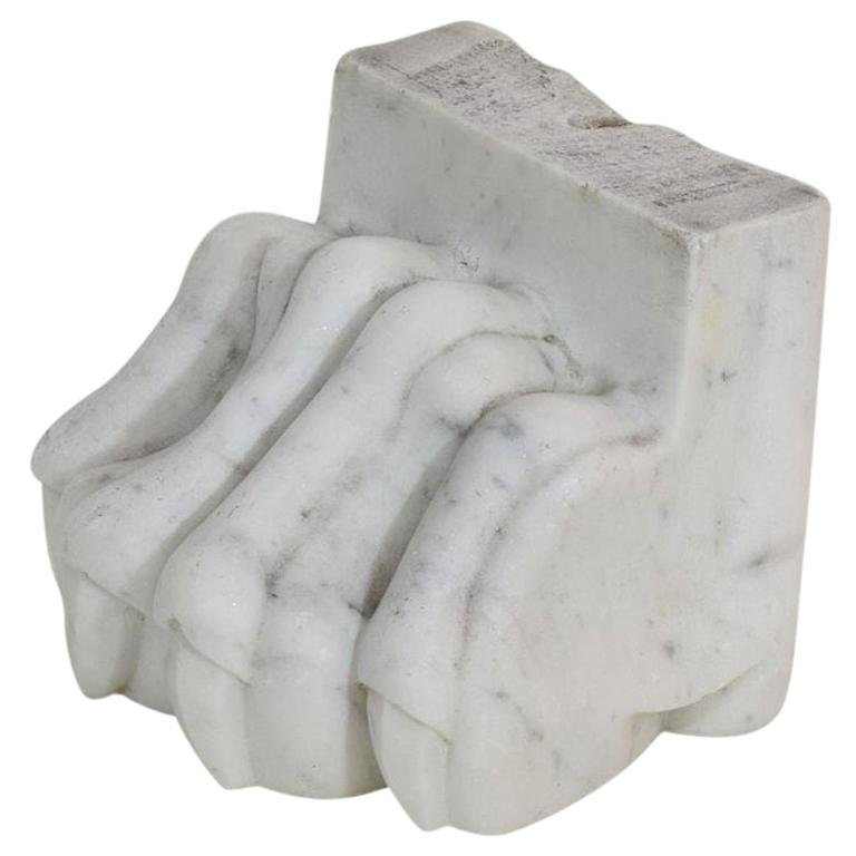 18th-19th Century Neoclassical Italian Marble Claw