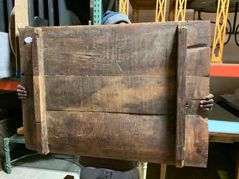 18th-19th Century Primitive Table, Probably French, One Drawer For Sale 4