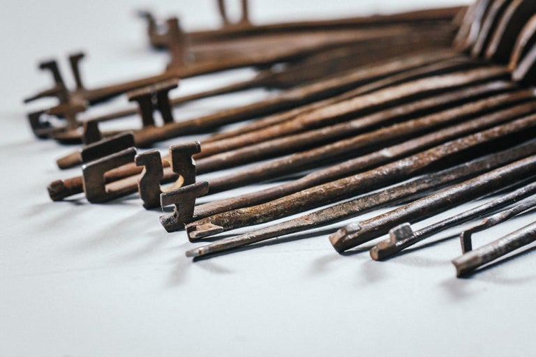 18th Century and Earlier 18th and 19th Century Lock Pickers Skeleton Keys For Sale