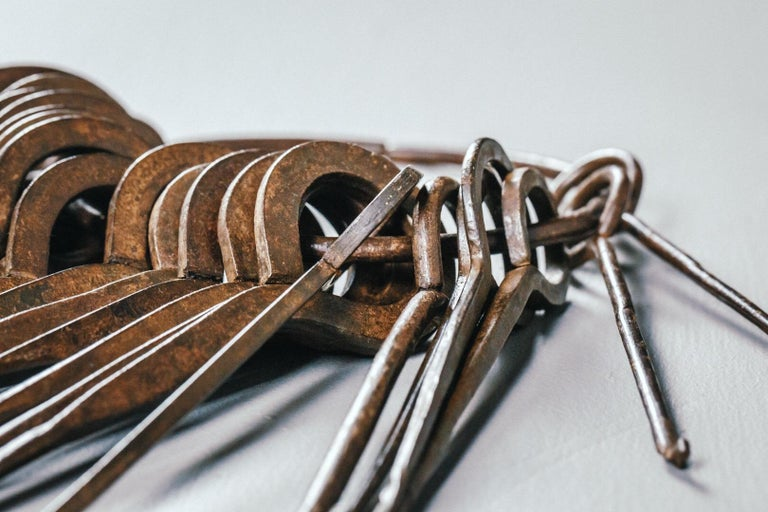 Iron 18th and 19th Century Lock Pickers Skeleton Keys For Sale