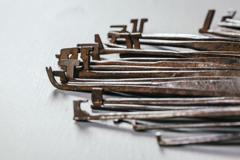 18th and 19th Century Lock Pickers Skeleton Keys For Sale 2