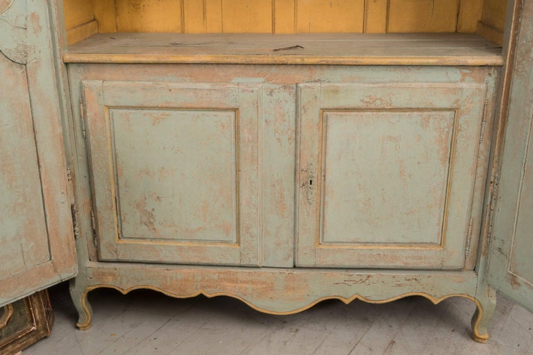 Painted 18th Century Bordelaise Armoire For Sale
