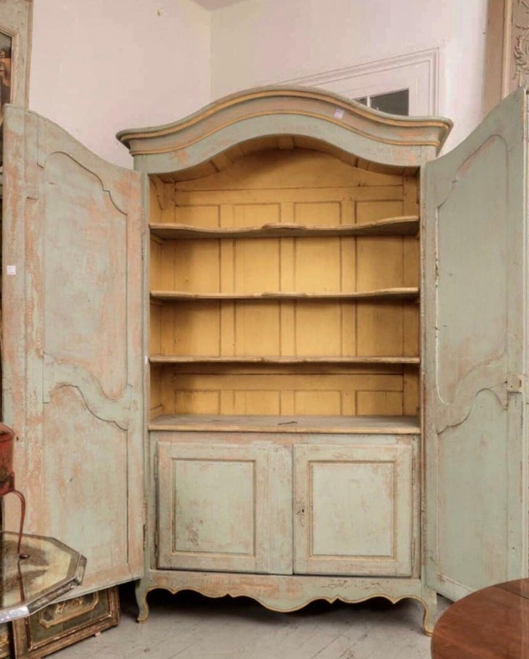Wood 18th Century Bordelaise Armoire For Sale