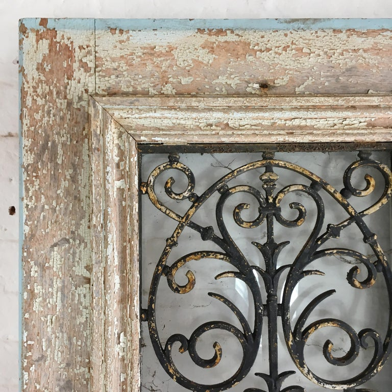 18th Century and Earlier 18th Century French Oak Chateau Doors with Transom For Sale