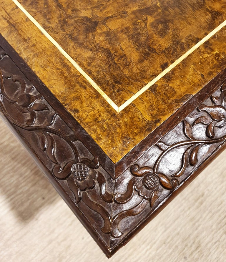 18th Century Indonesian Hand Carved Table For Sale 7