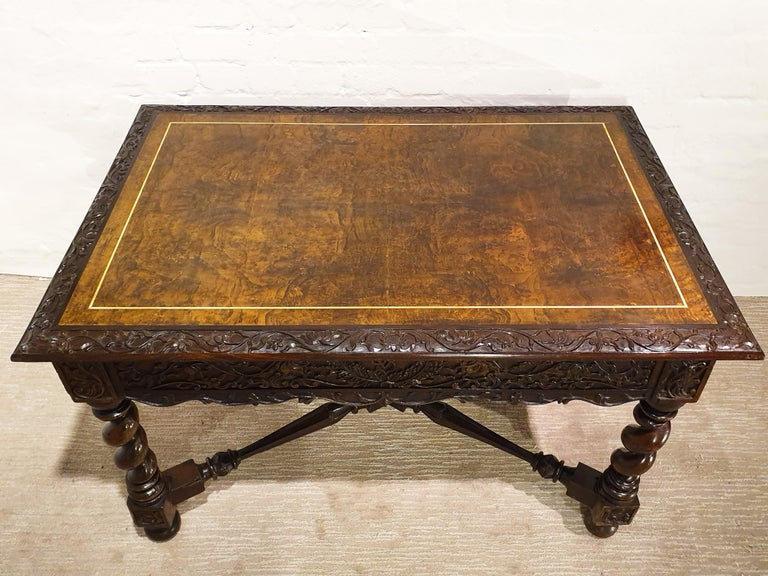 18th Century Indonesian Hand Carved Table For Sale 5